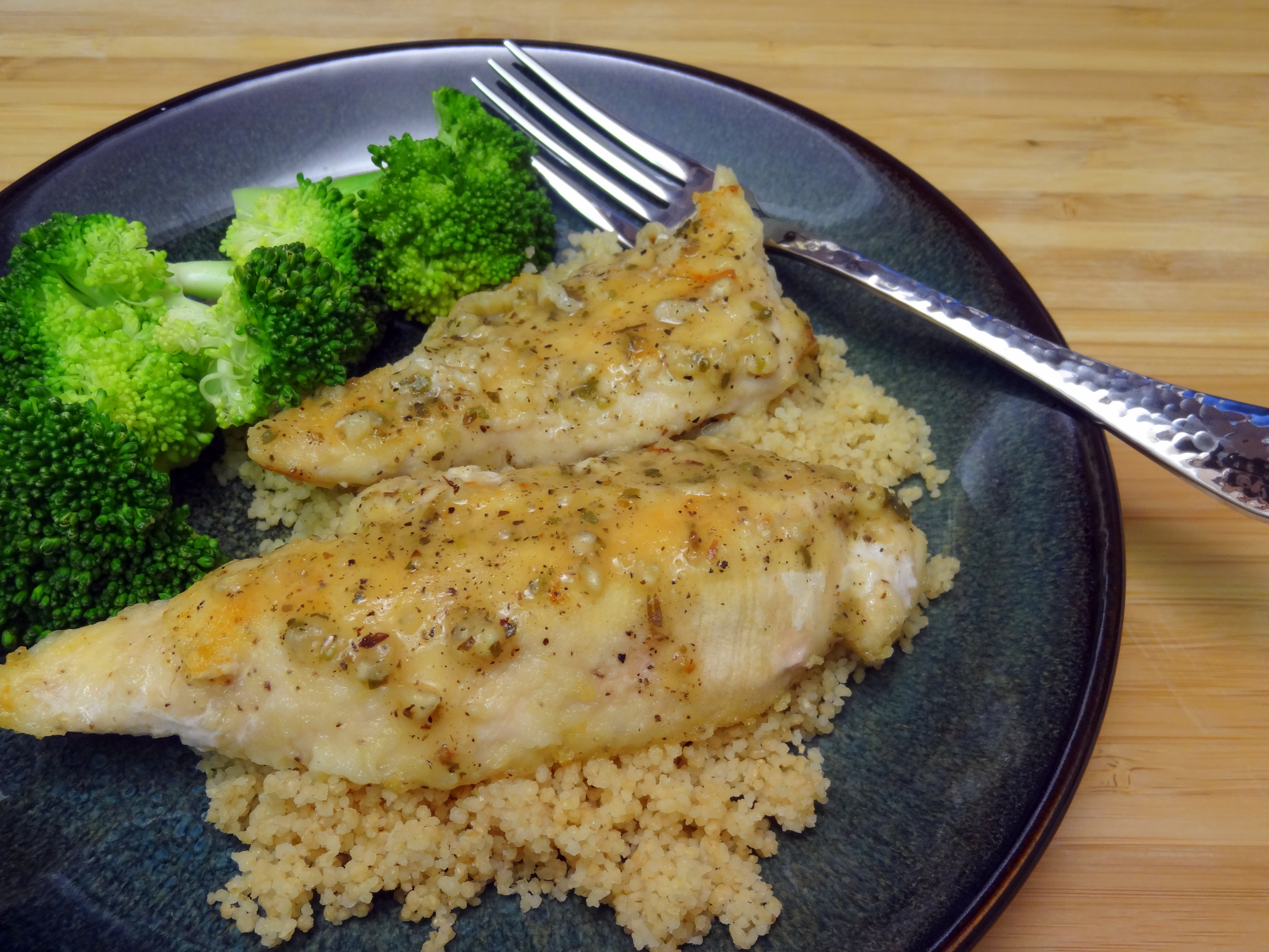 Milkless Monday: Lemon Chicken
