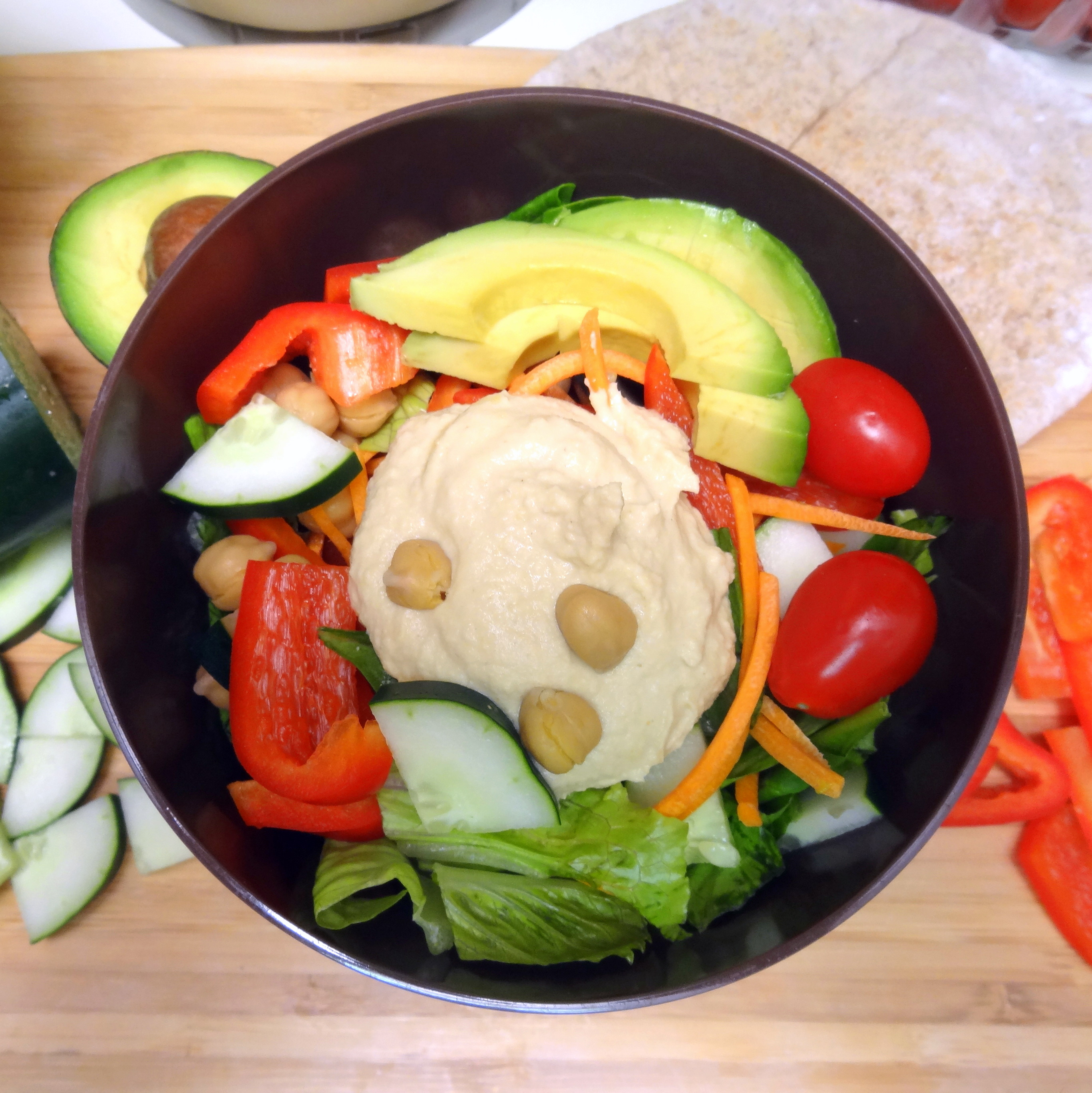 Milkless Monday: Hummus Salad