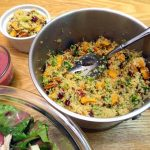 Cranberry Sweet Potato Couscous