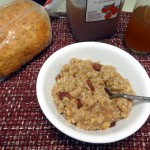 National Oatmeal Day: Cherry Walnut Oatmeal