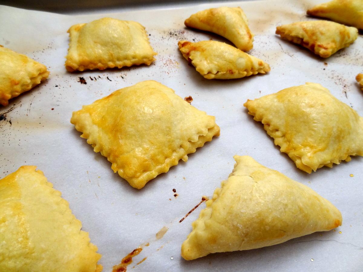 "Cranberry Brie ""Ravioli"" Pastries"