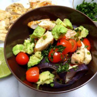Jalapeño-Lime Chicken Fajita Bowls