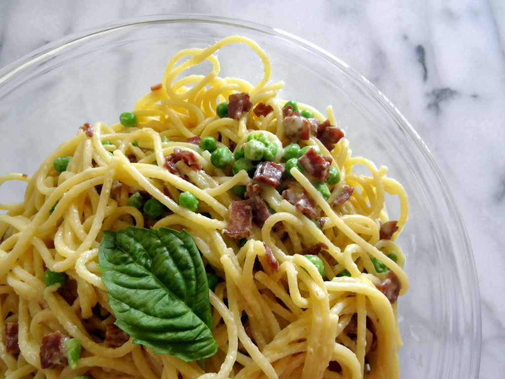 Drunken Spaghetti alla Carbonara