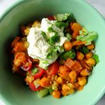 Chickpea and Cucumber Quinoa Bowls
