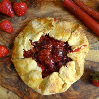 Strawberry Rhubarb Galette