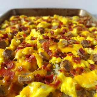 Hash Brown Breakfast Pizza