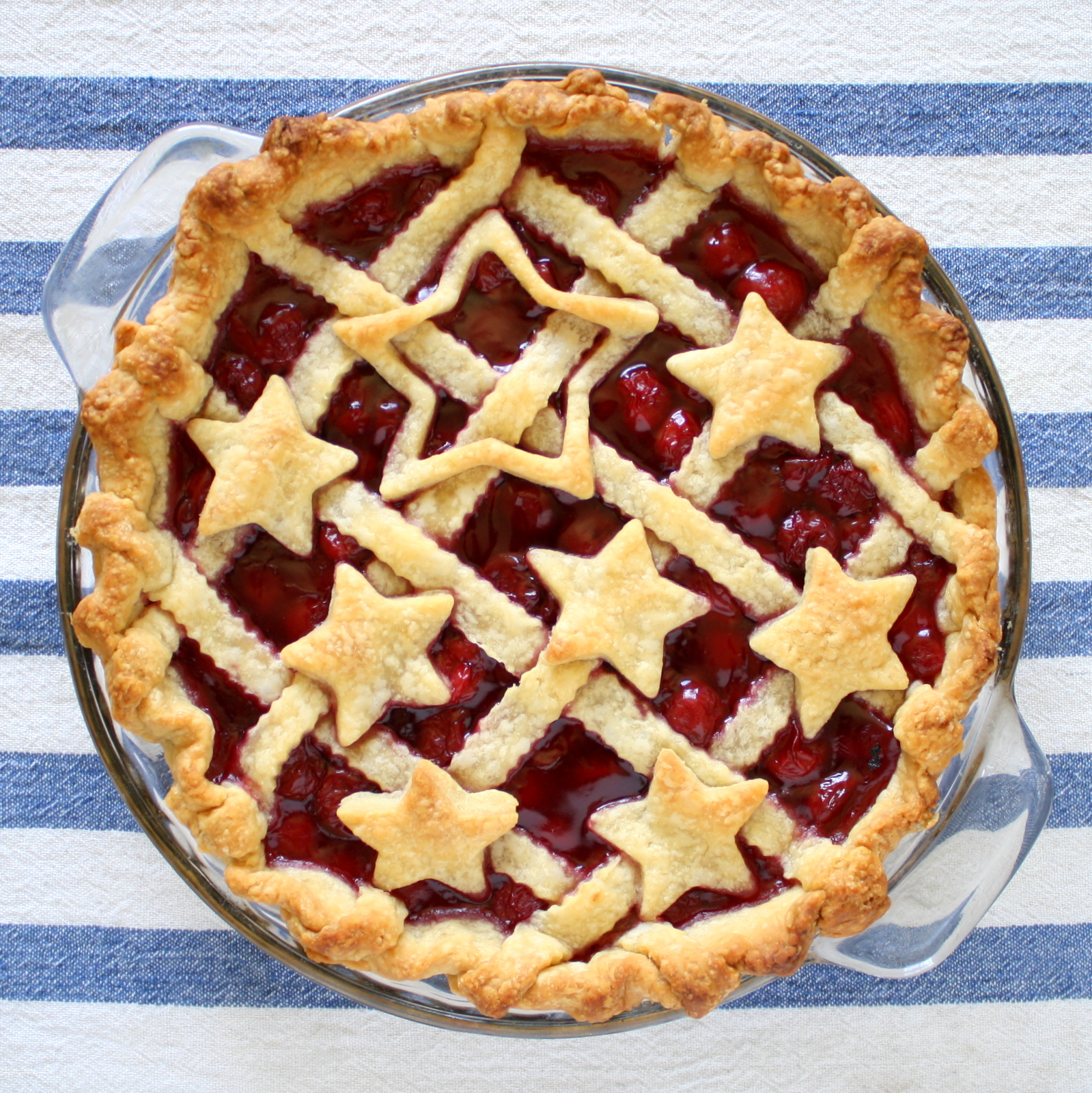 Fourth of July pie design