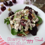 Cherry Poppy Seed Chicken Salad
