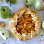 Caramel Apple Galette