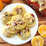 Cranberry Orange Coconut Cookies