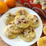 Cranberry Orange Coconut Cookies