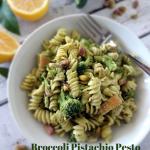 Broccoli Pistachio Pesto