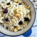 Cherry Cashew Rice Pilaf