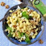Creamy White Bean Pasta Salad with Champagne Vinaigrette