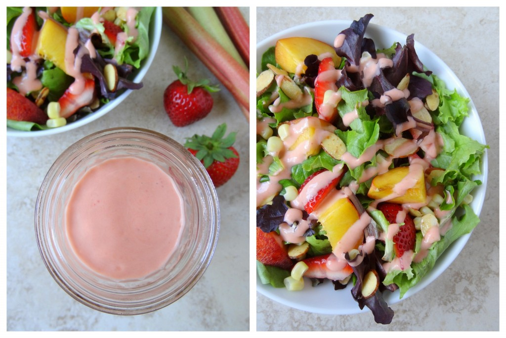 strawberry rhubarb vinaigrette