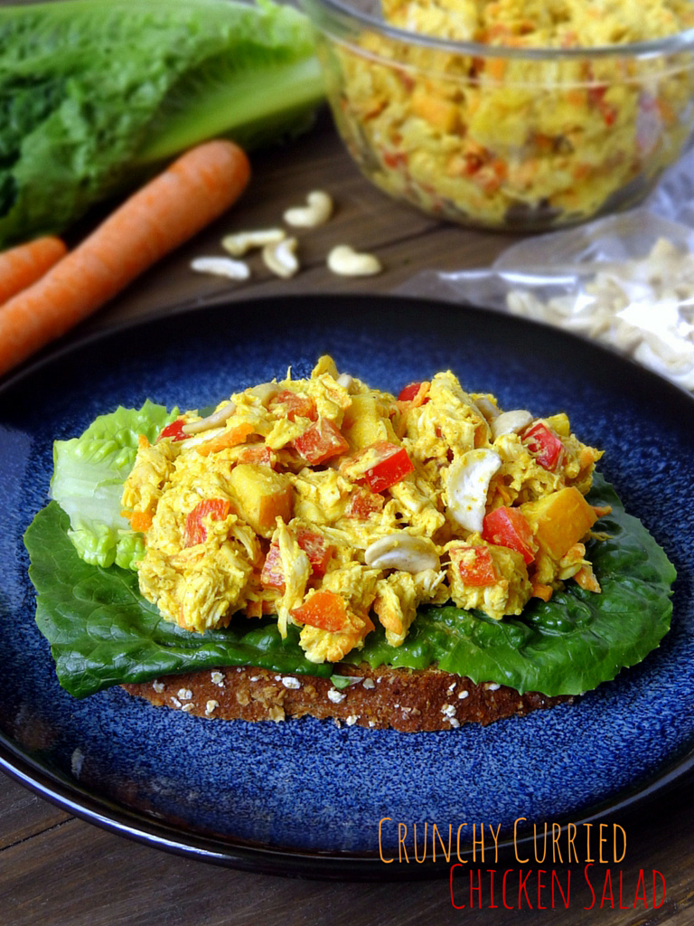 crunchy curried chicken salad