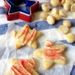 White Chocolate Macadamia Shortbread Cookies