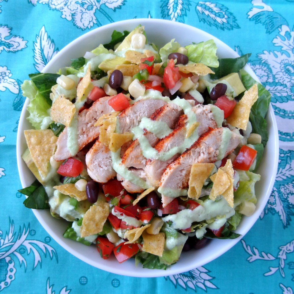 pico de gallo grilled chicken salad