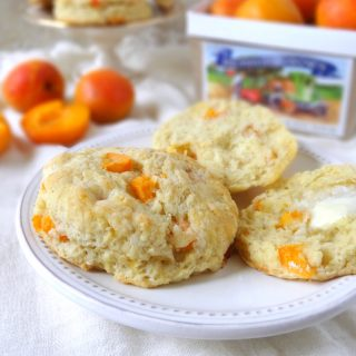 Fresh Apricot & Ginger Scones