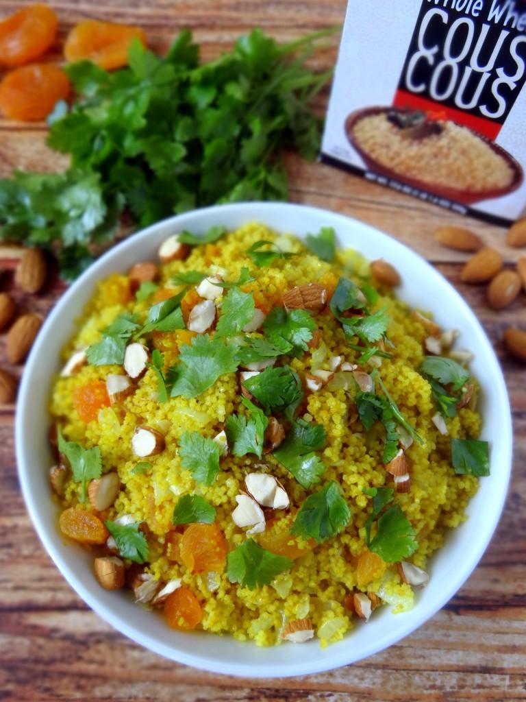 Moroccan apricot couscous