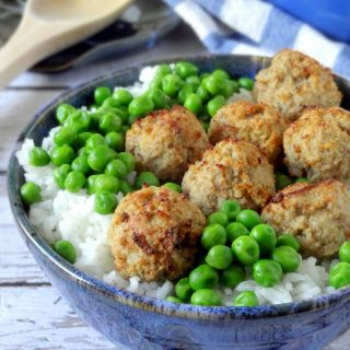 Lighter Swedish Meatballs