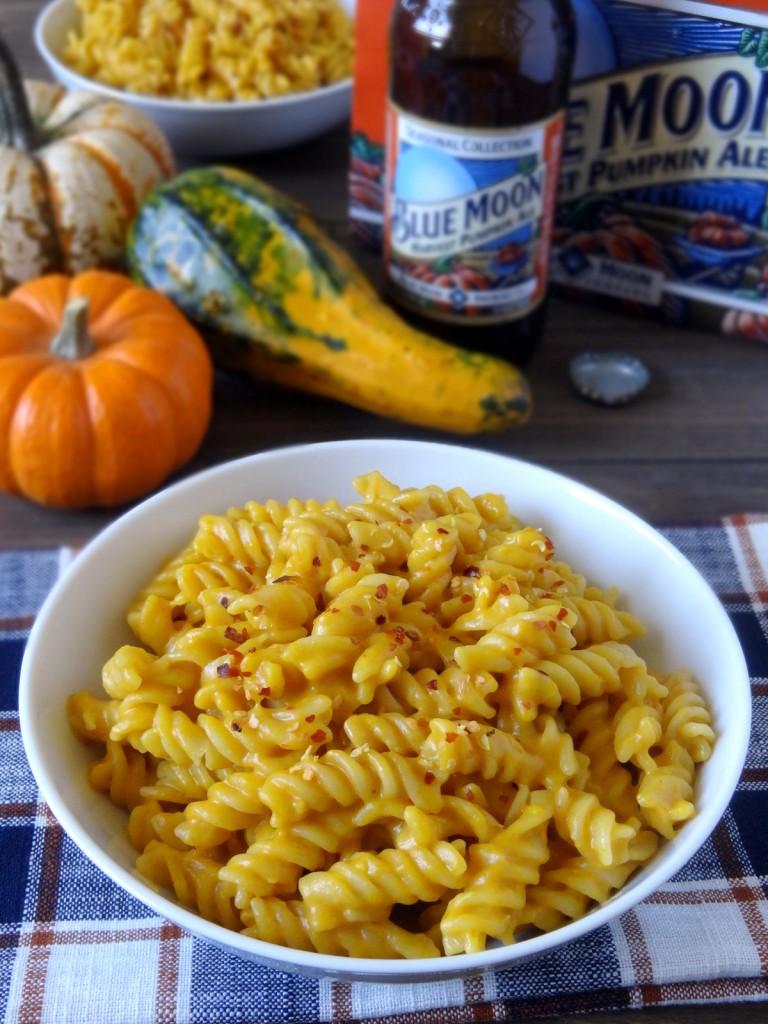 one-pot pumpkin ale mac and cheese