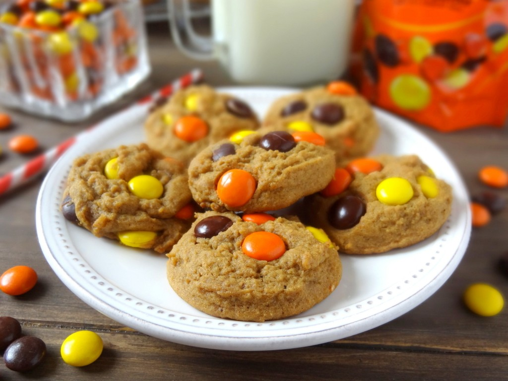 ginger spice peanut butter cookies