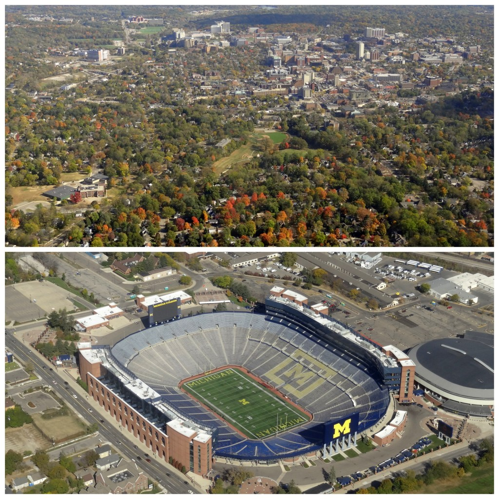 Ann Arbor from the air