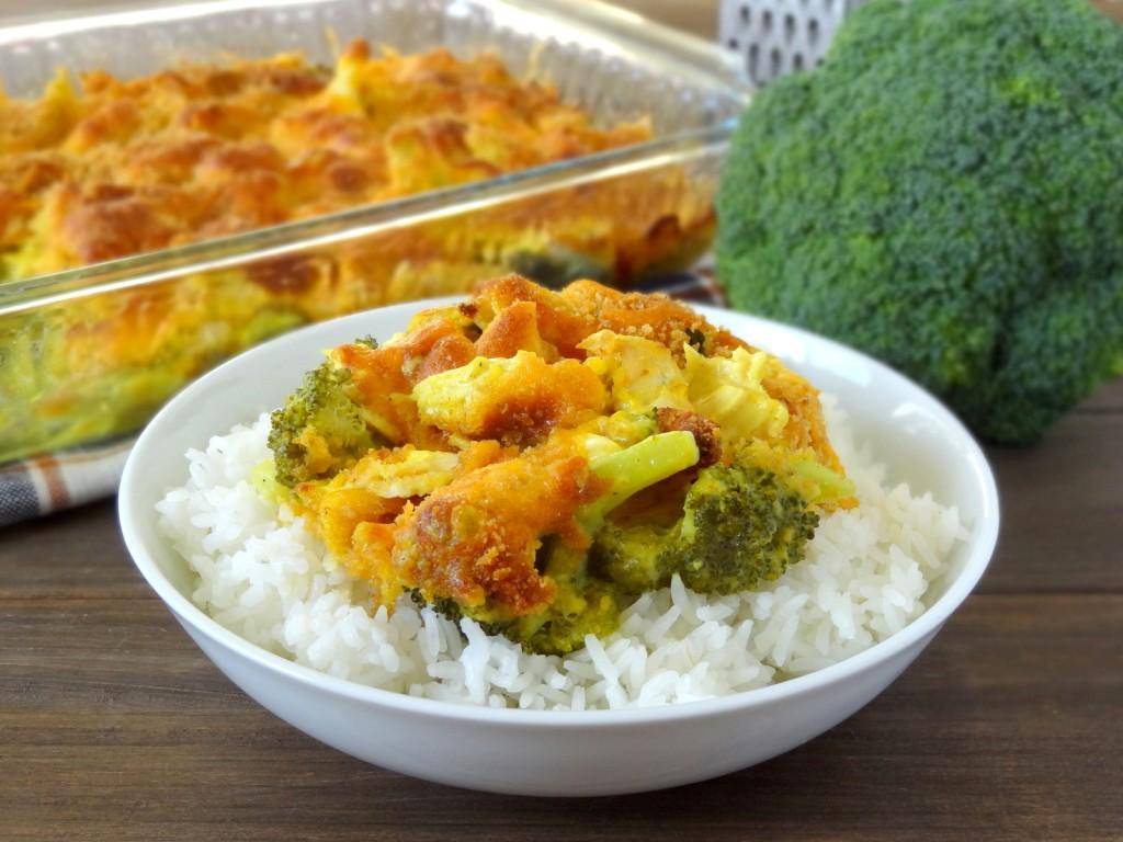 curried broccoli cheese chicken casserole