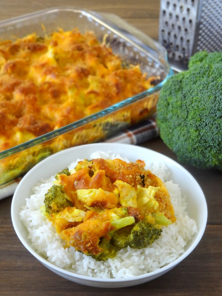 curried broccoli cheese chicken casserole