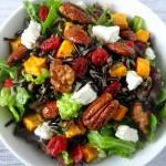 Wild Rice and Sweet Potato Salad