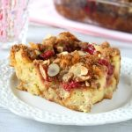 cherry pie French toast casserole