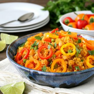 Chickpea Couscous Paella