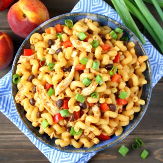 Chipotle-Peach Chicken Pasta