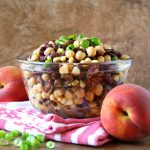 Chipotle-Peach Three-Bean Salad