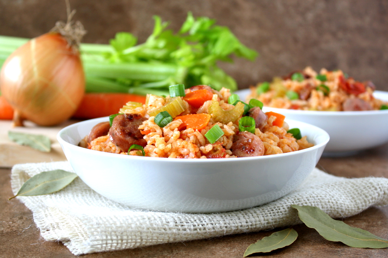 easy one-pot jambalaya