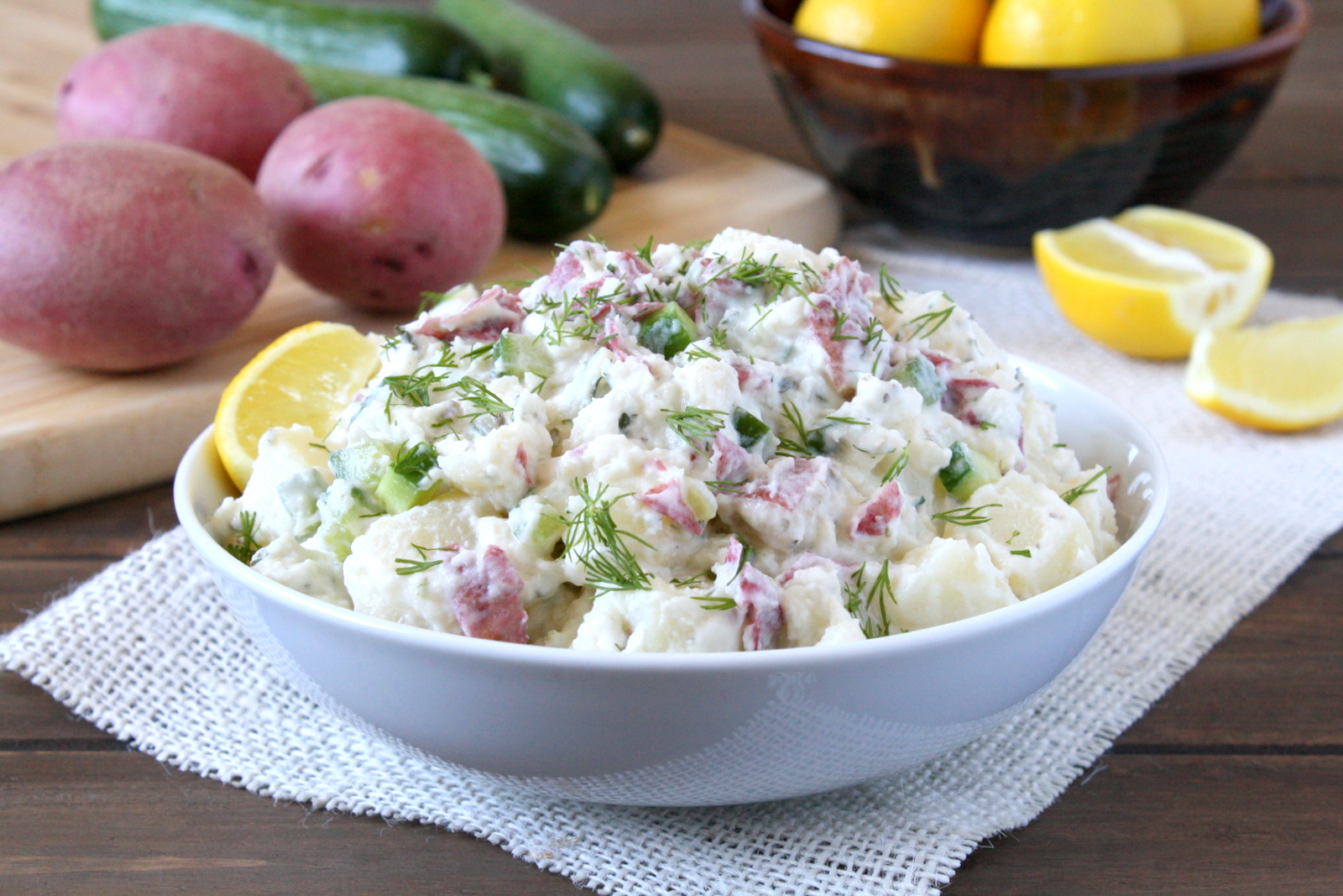 tzatziki potato salad