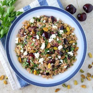 Cherry Couscous Tabbouleh