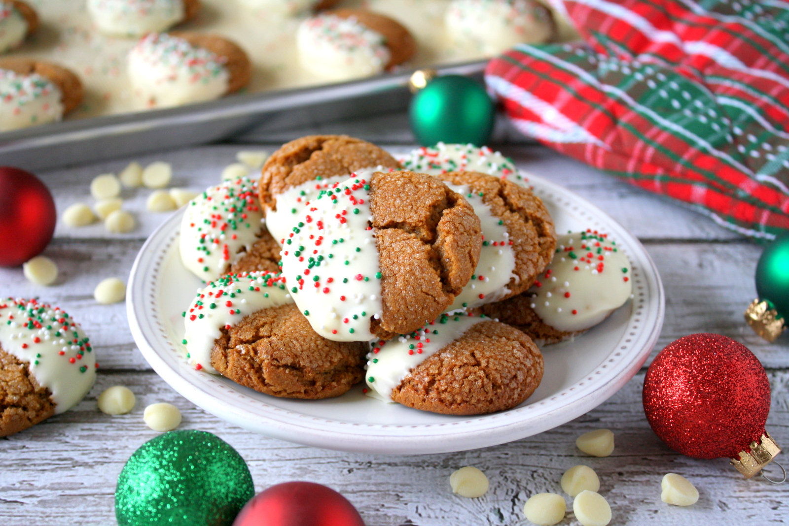 molasses crinkle cookies