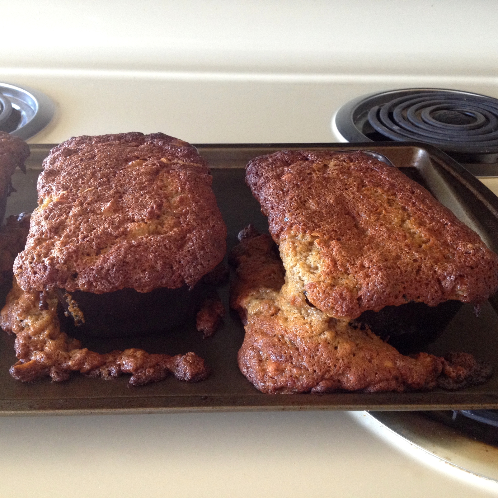 banana bread fail