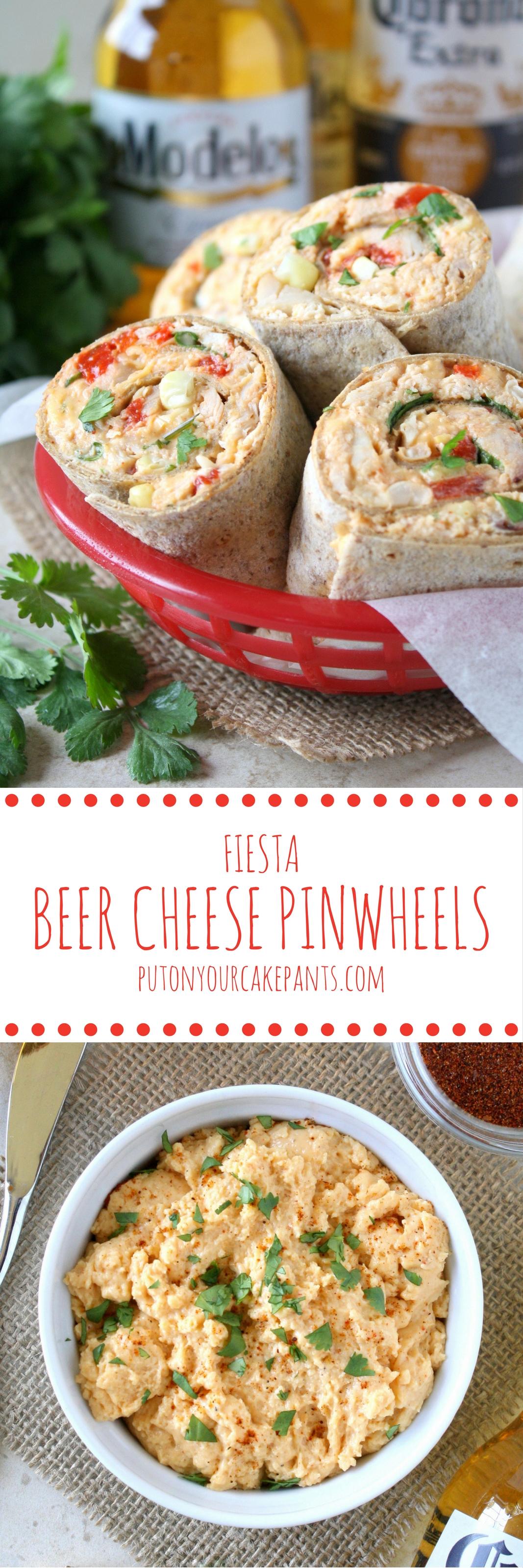 fiesta beer cheese pinwheels #CervezaCelebration #shop