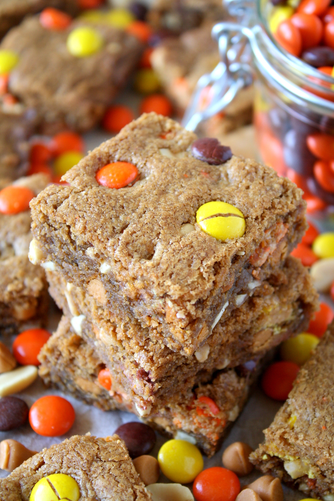 peanut butter butterscotch blondies