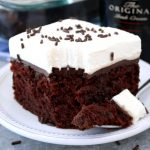 Chocolate Irish Cream Poke Cake