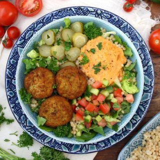 Falafel and Hummus Bowls